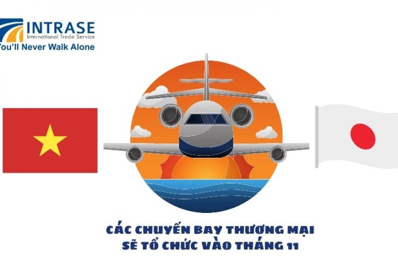Tháng 11 mở lại đường bay thương mại Việt Nam - Nhật bản
