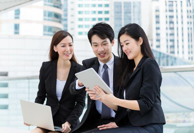 Nhân viên phát triển thị trường Nhật Bản làm việc tại Hà Nội
