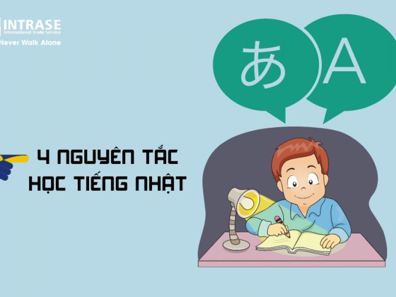 Bật mí 4 nguyên tắc học tiếng Nhật giao tiếp cơ bản