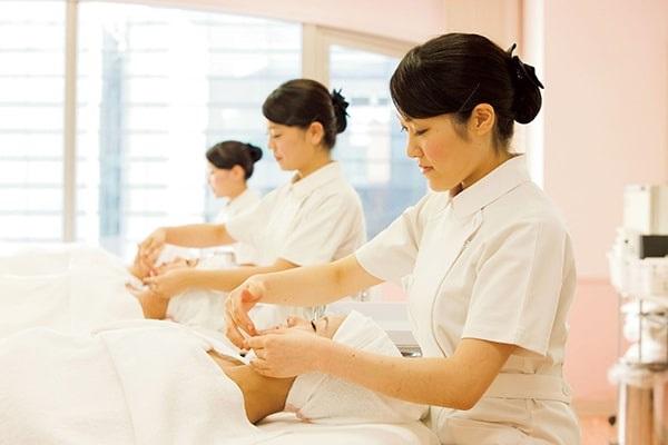 du học Nhật Bản ngành spa